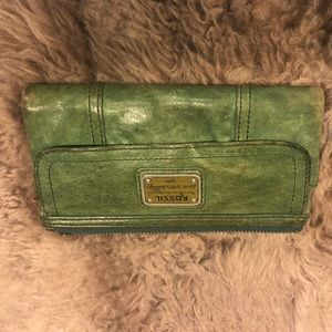 Fossil vintage style wallet